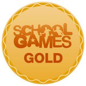 School Games Gold Award logo